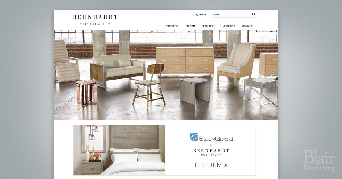 Bernhardt Hospitality Website