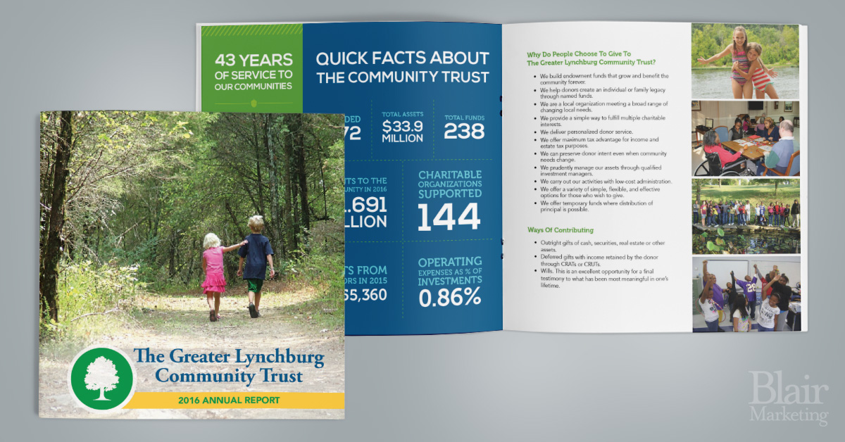 The Greater Lynchburg Community Trust Annual Report