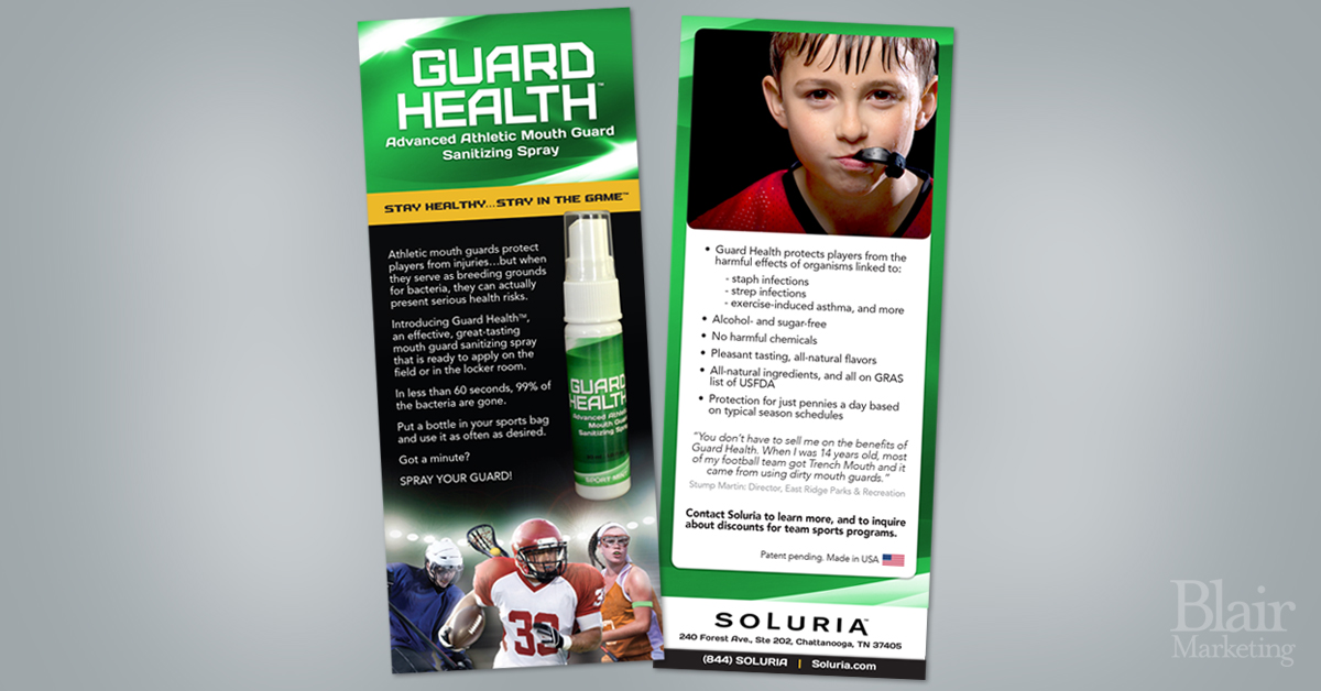 Guard Health rack cards