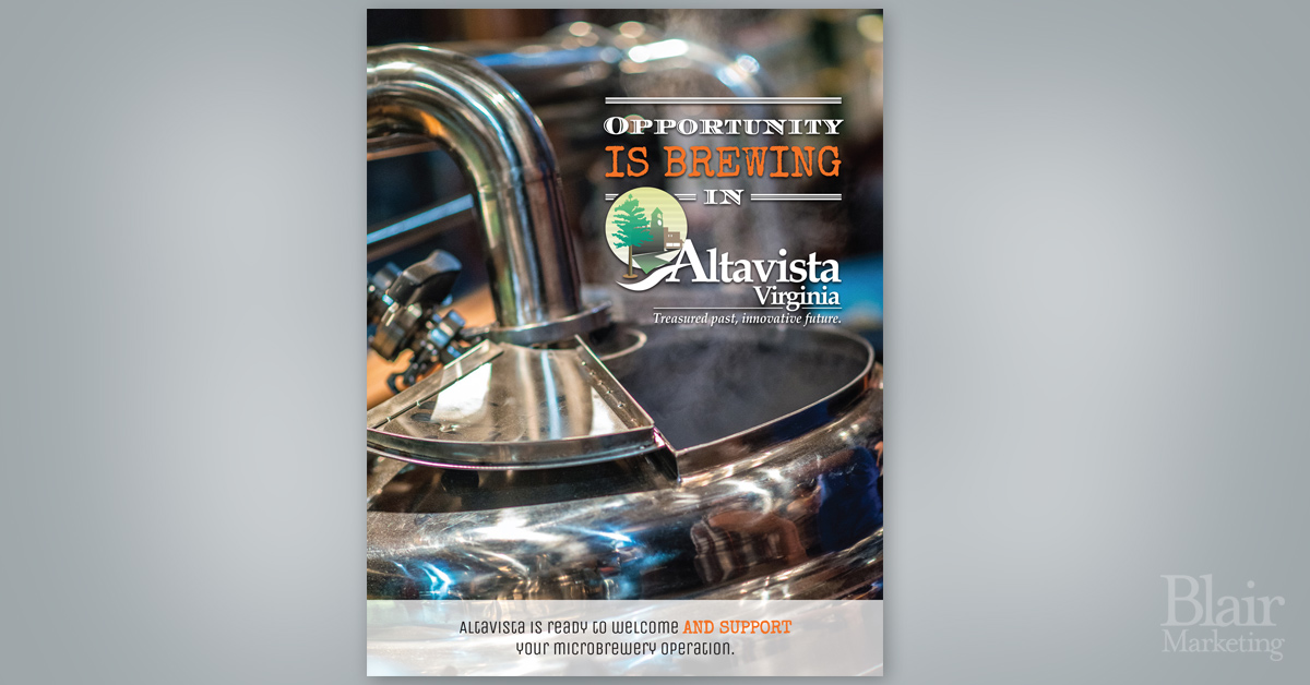 Altavista Brewery Flyer
