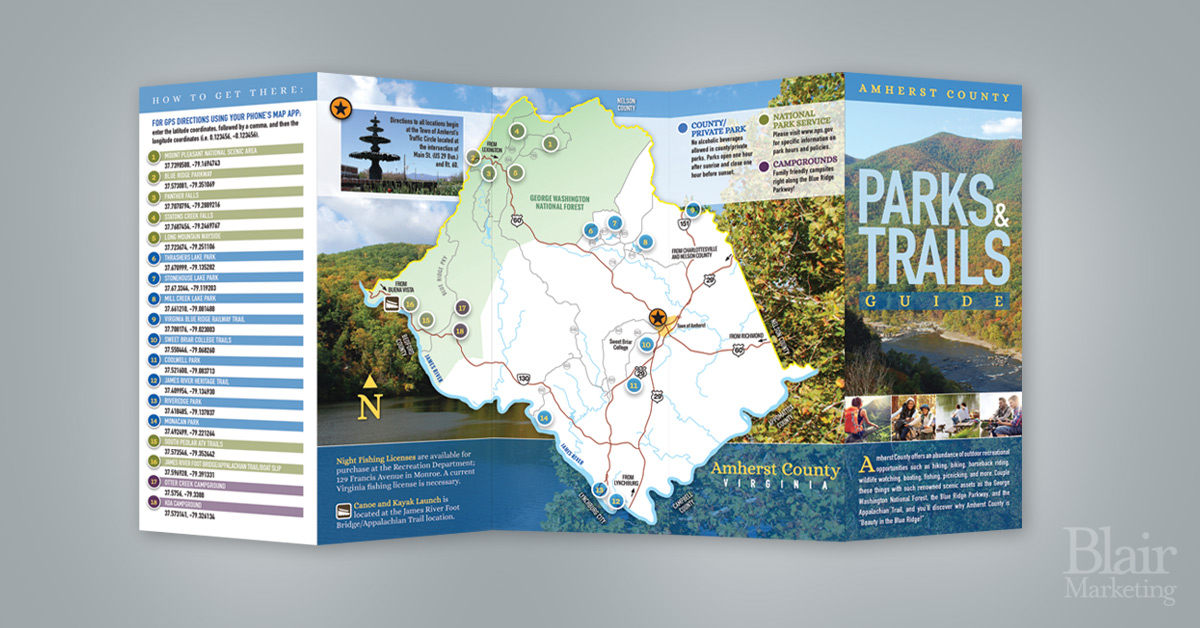 Amherst County Parks & Trails Guide