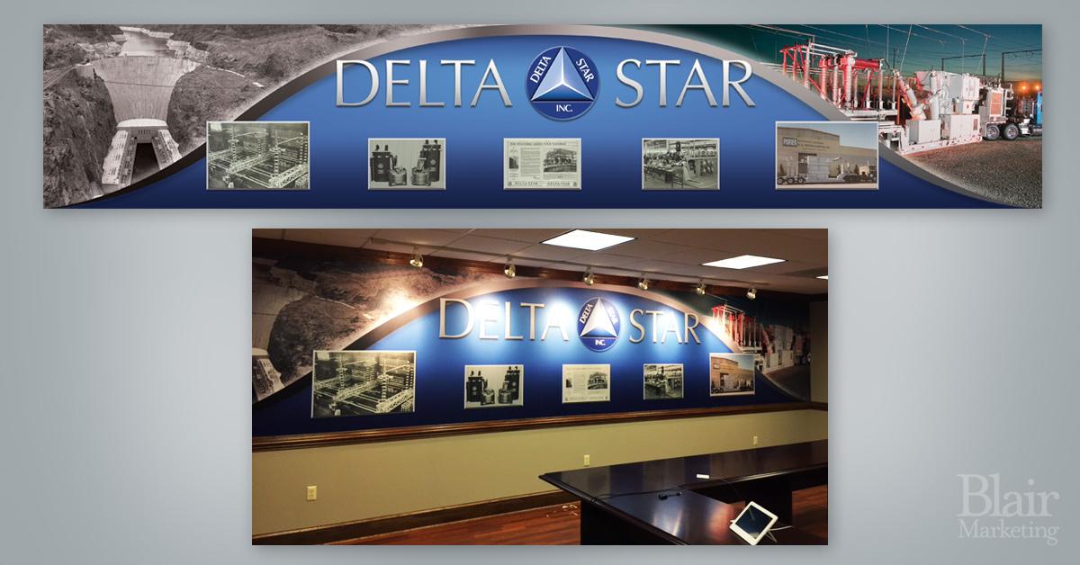 Delta Star Mural
