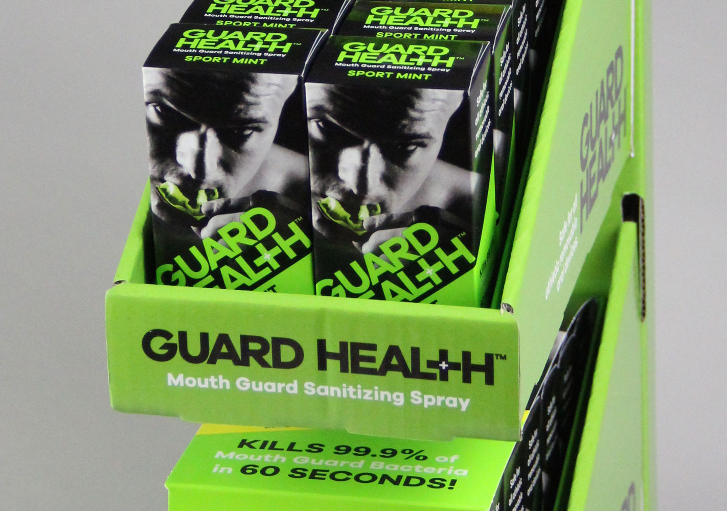 Guard Health Packaging Display